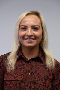 Olivia Bromley, Junior Administrator